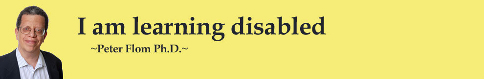 I am Learning Disabled